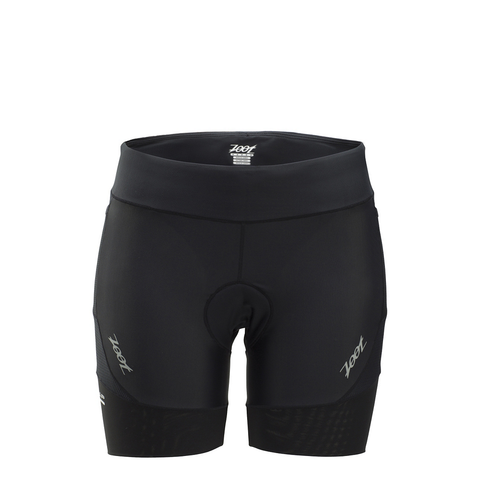 "Zoot Women's Black Performance 6"" Tri Short"