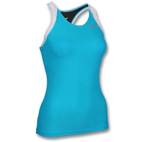 "Zoot Women's Performance Tri Racerback <a href=""{{product.url}}""> see more colors</a>"