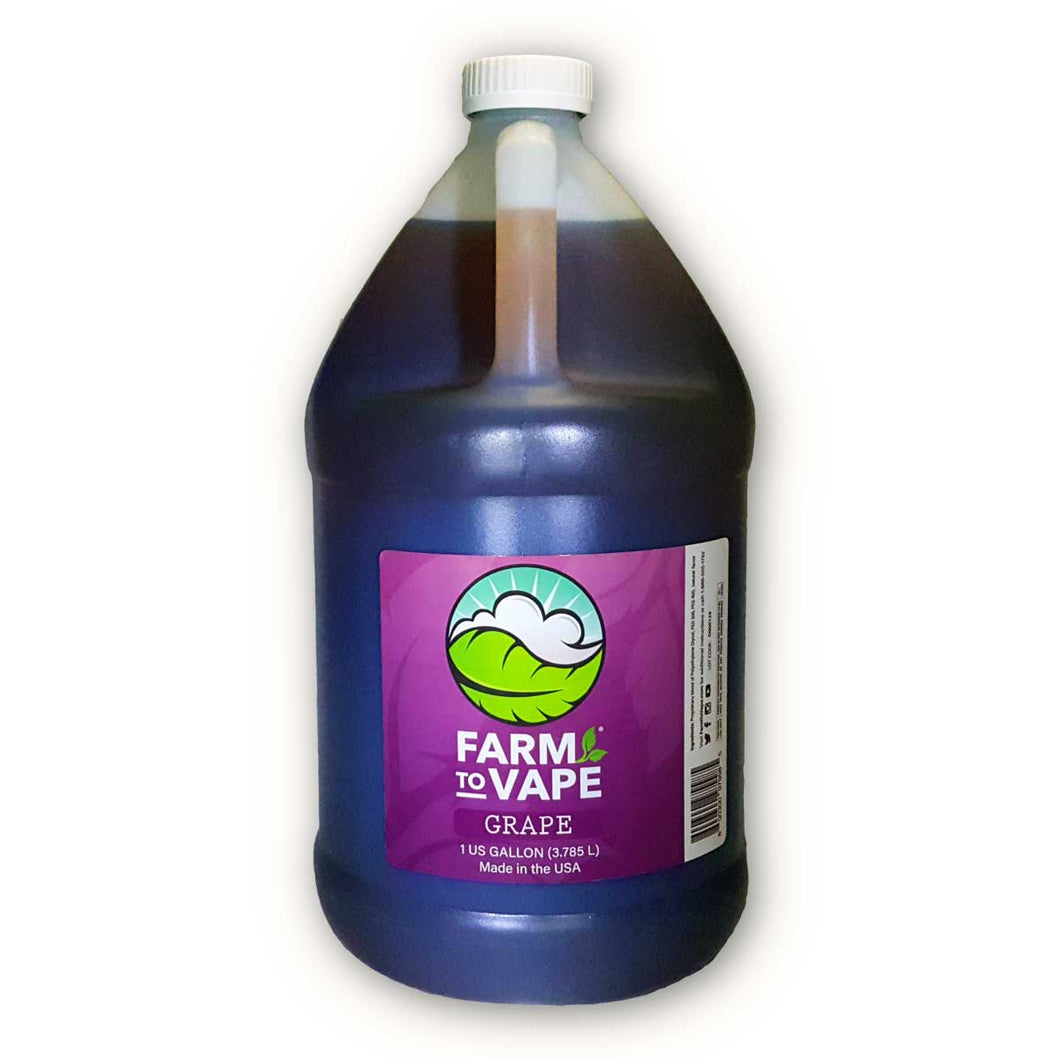 Farm To Vape Grape Flavour (1 Gallon)