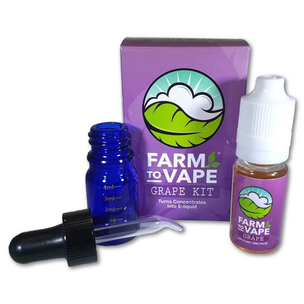 Grape Flavour Kit