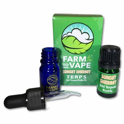 Sunset Sherbet Terpene Profile Kit (2ml)