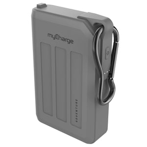 Adventure H20 10050mAh Portable Charger Grey