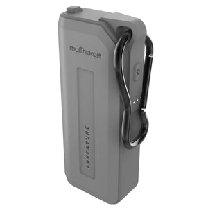 AdventureMini H20 Grey 3350 Portable Charger for Smartphones