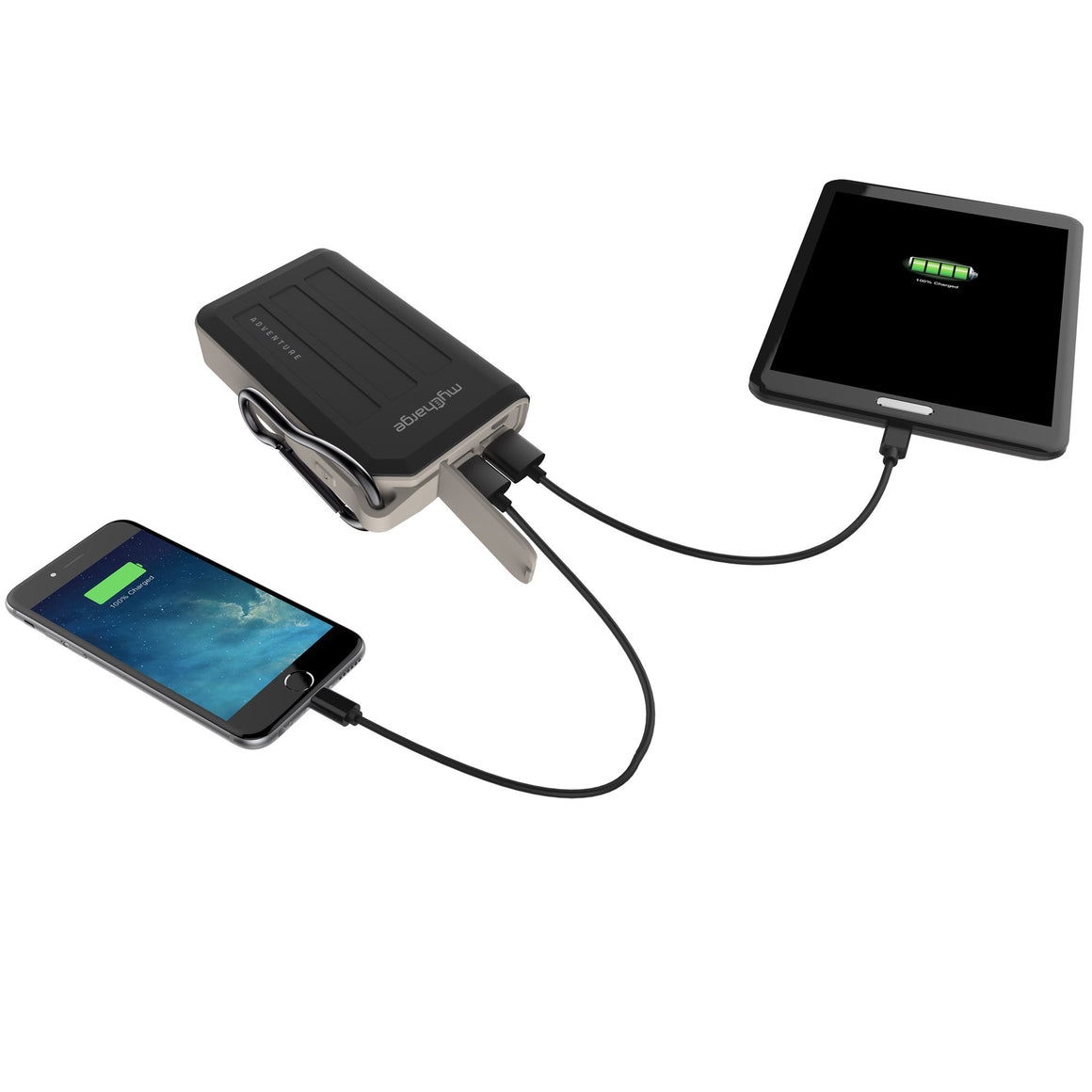AdventureMax Charging 10050mAh Portable Charger