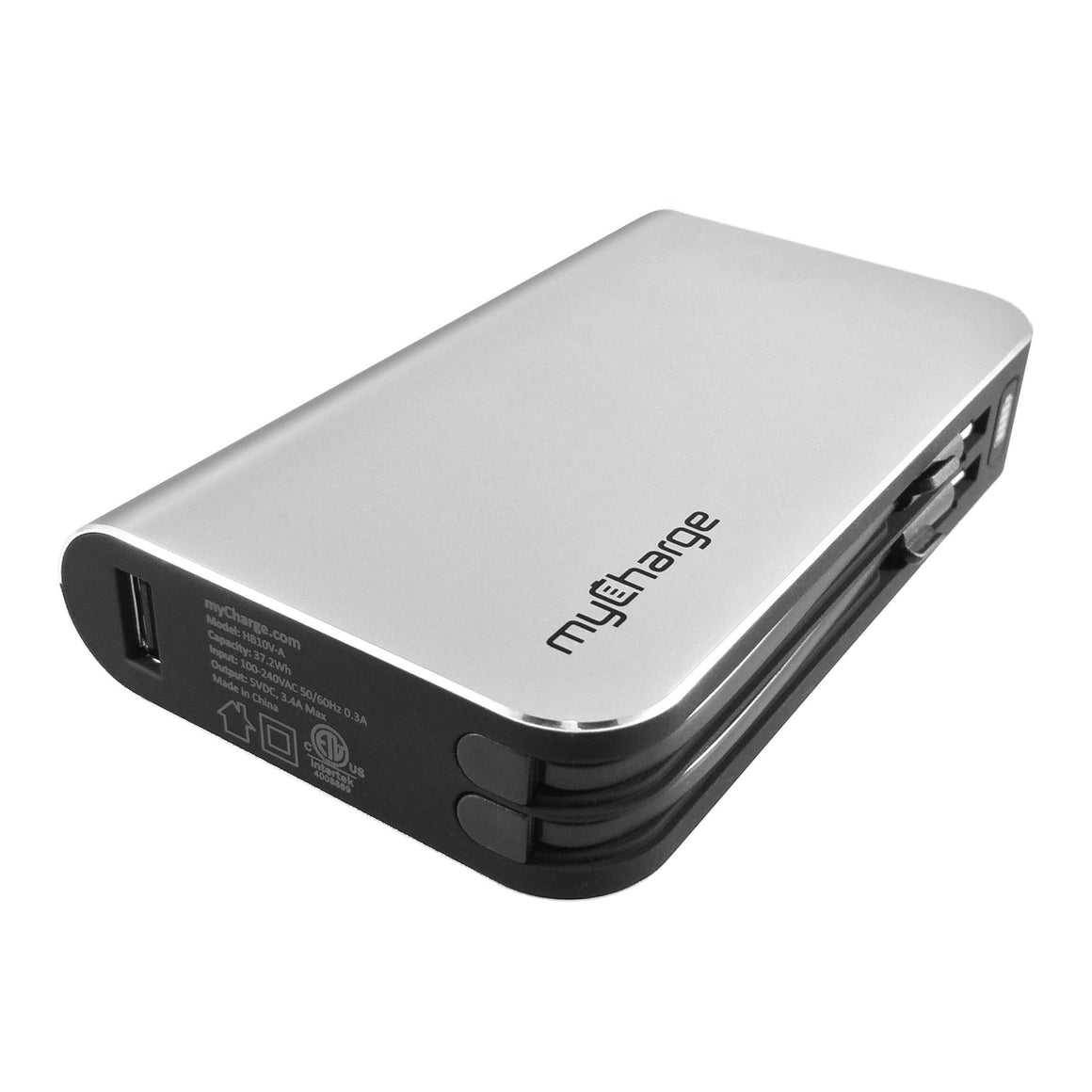 myCharge HubMax 9000mAh portable battery charger USB port