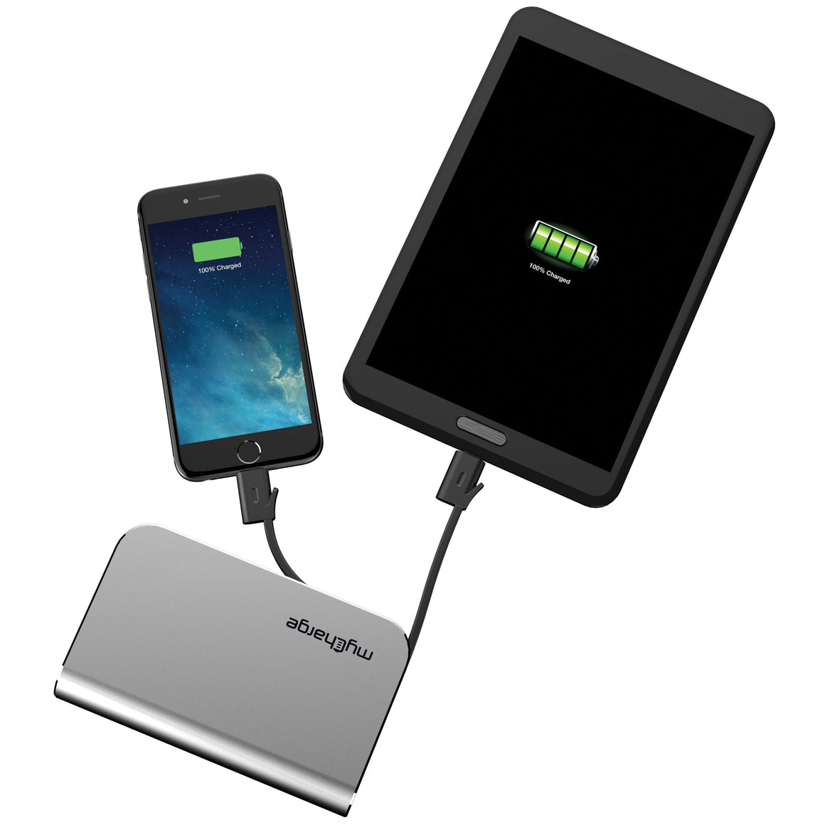 myCharge HubPlus 6000mAh portable battery charger devices