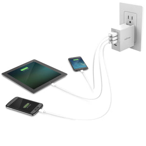 Wall Charging Hub Charging 3 Devices