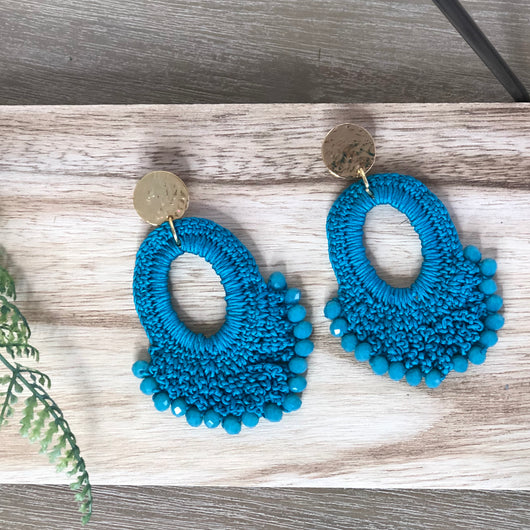 Carmen Earrings Teal