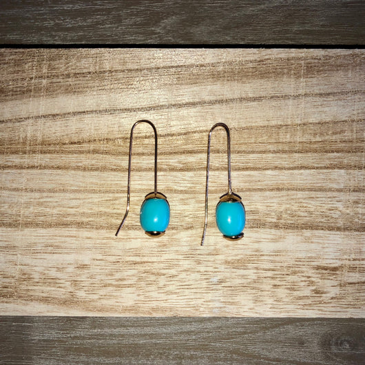 Amaga Earrings Turquoise