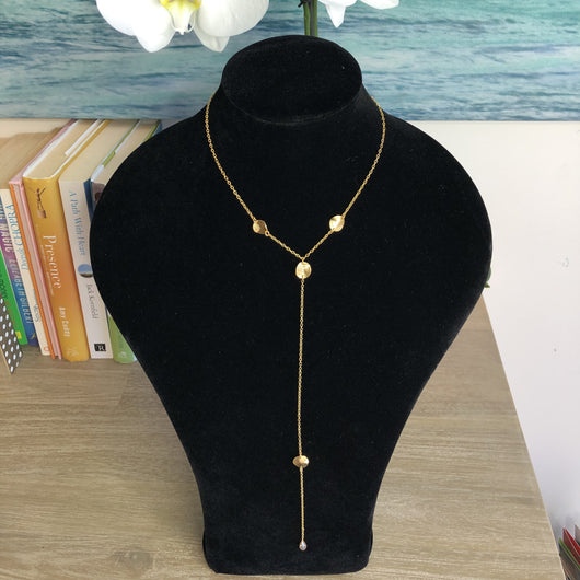 Bolivar necklace long