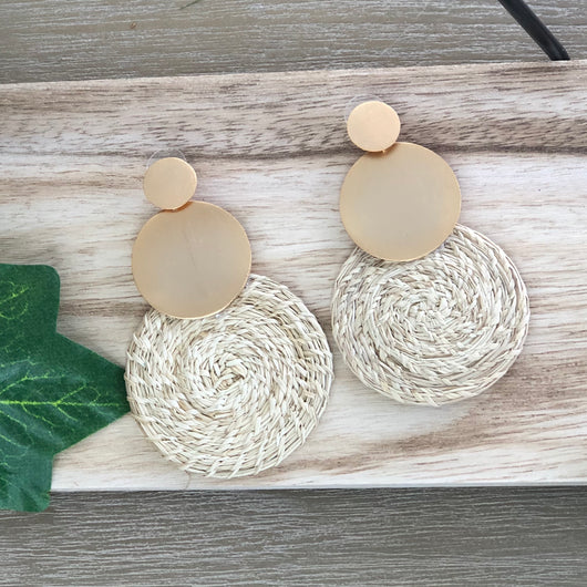 Linares Earrings Natural