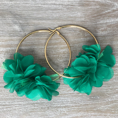 Macarena Earrings Green