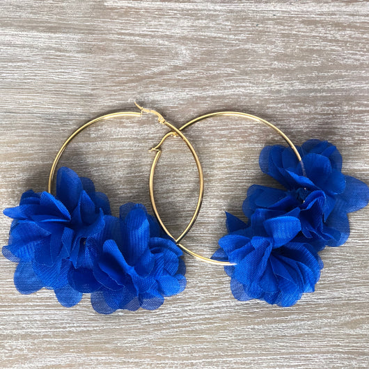 Macarena Earrings Blue