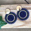 Medellin Earrings Blue