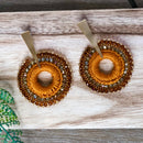 Salento Earrings orange