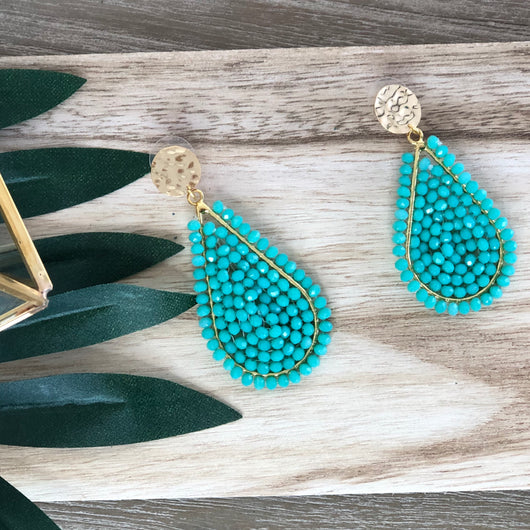 Santana Earrings Green