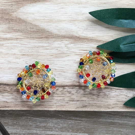 Toledo Earrings Multicolour