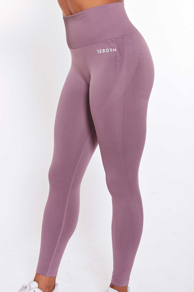 SØMLØSE FLEX LEGGINGS ROSYBROWN
