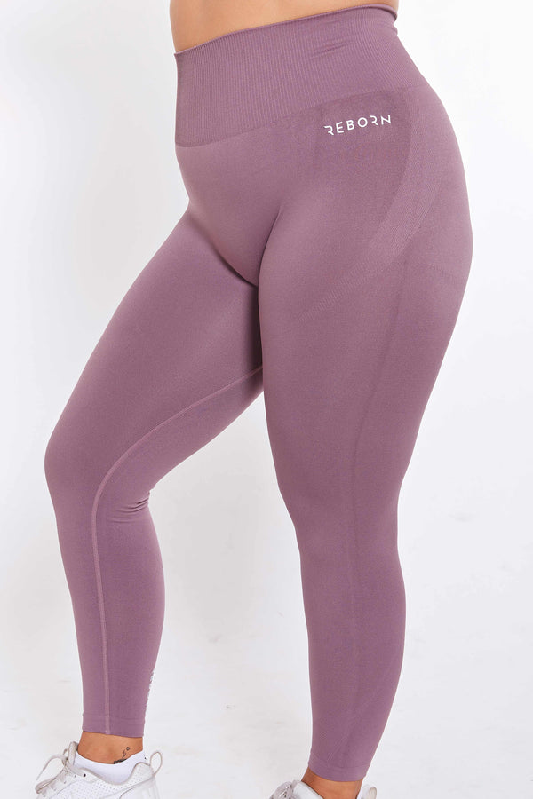 SEAMLESS FLEX LEGGINGS ROSYBROWN