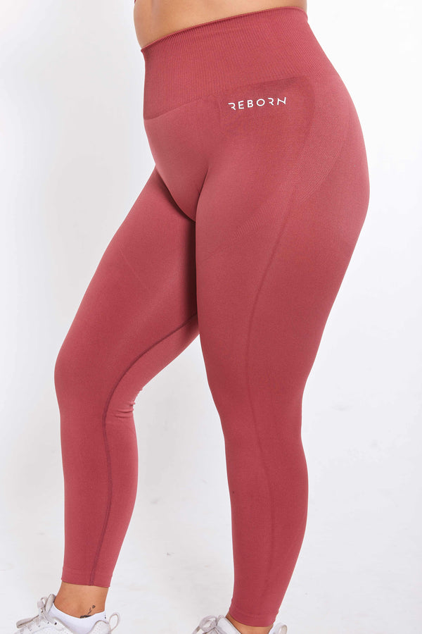 SEAMLESS FLEX LEGGINGS ROSA
