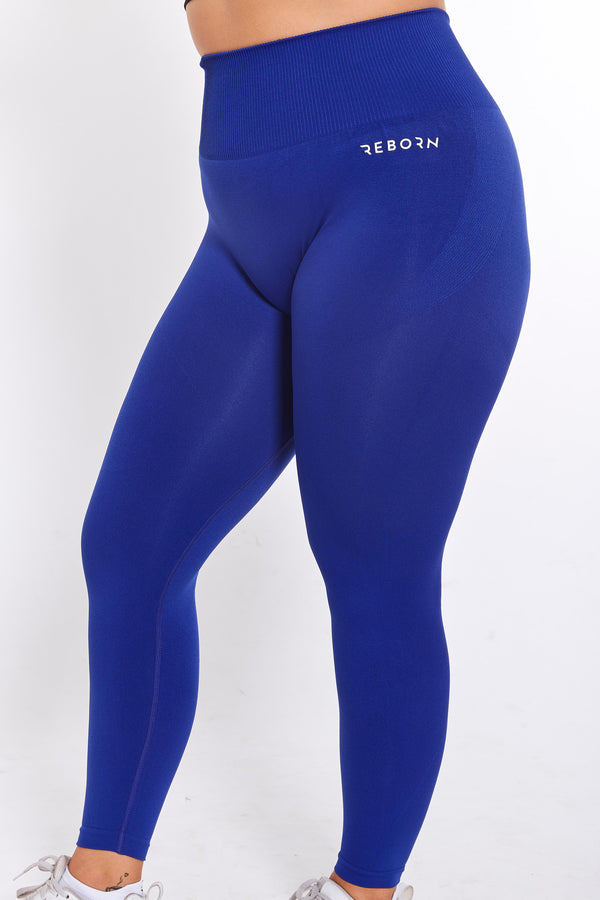SEAMLESS FLEX LEGGINGS ROYAL BLUE