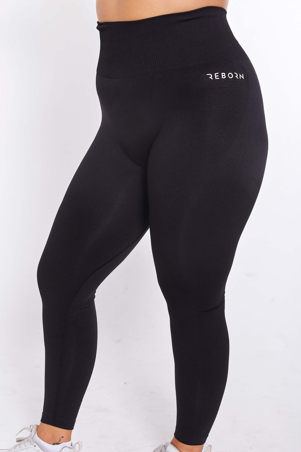 SEAMLESS FLEX LEGGINGS BLACK