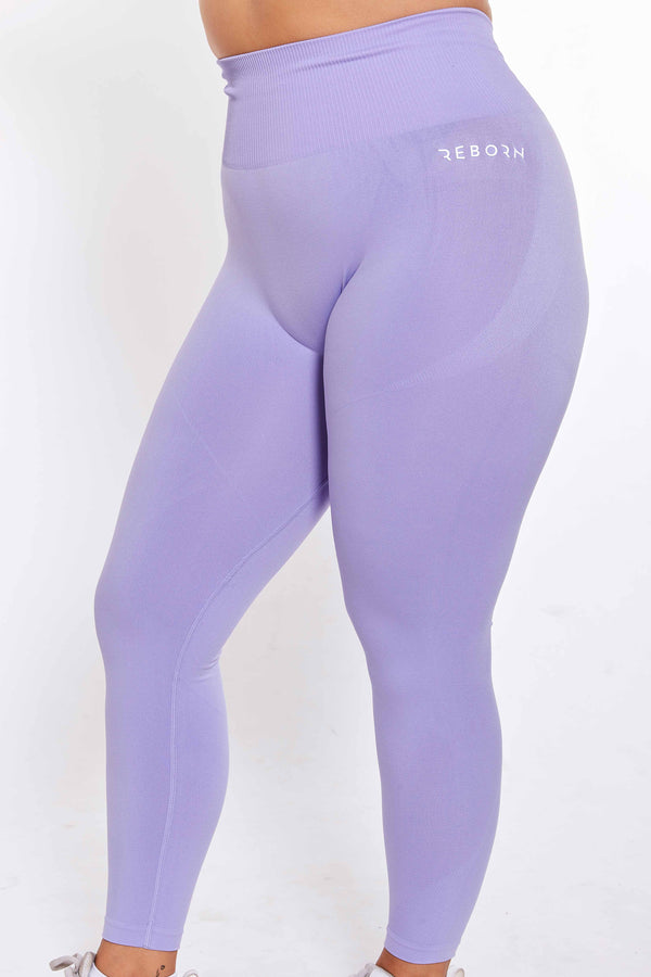 SEAMLESS FLEX LEGGINGS PURPLE