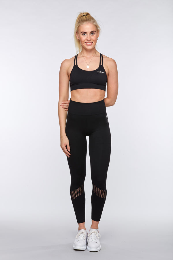 SEAMLESS FLOW LEGGINGS BLACK