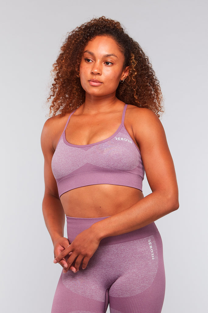SHAPE CROP TOP VIOLET