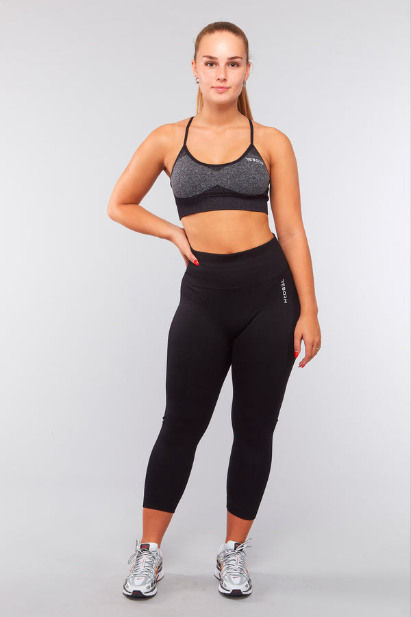 SEAMLESS BASIC LEGGINGS BLACK