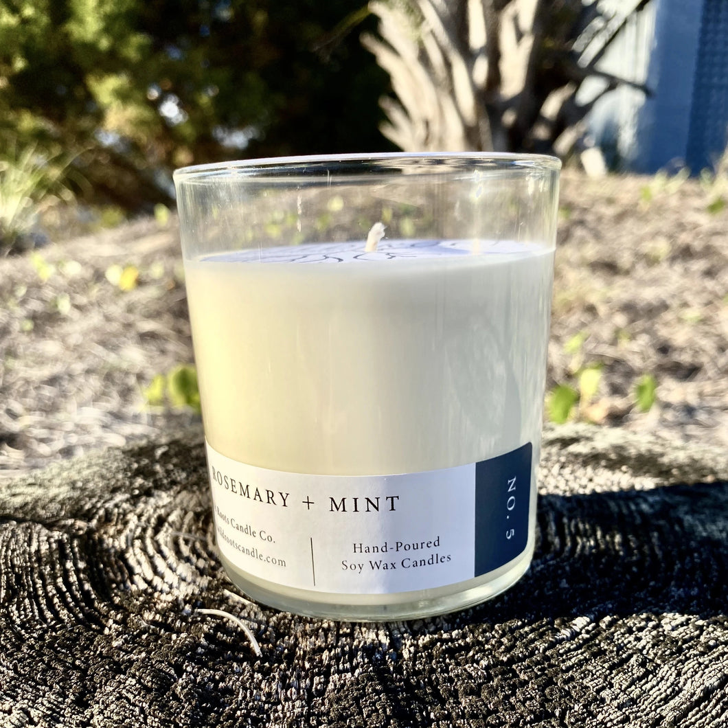 Rosemary + Mint - Wildrootscandle