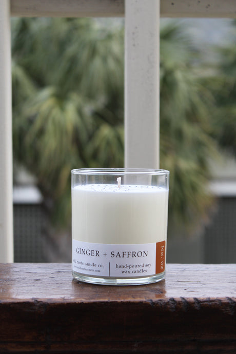Ginger + Saffron - Wildrootscandle