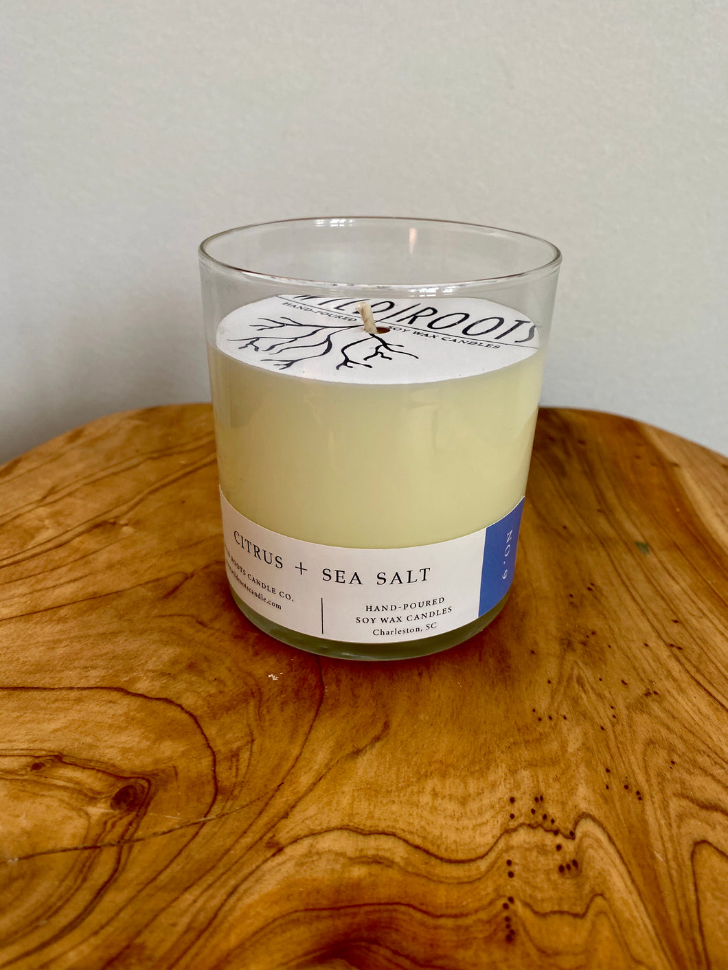 Citrus + Sea Salt - Wildrootscandle