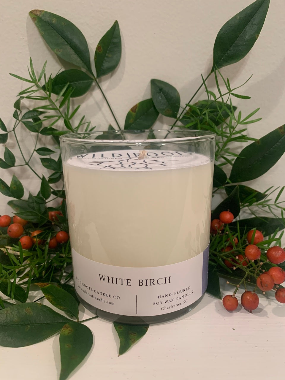 White Birch - Wildrootscandle