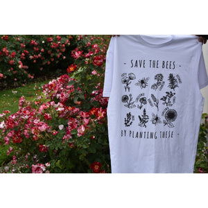 Save The Bees, By Planting These T-Shirt
