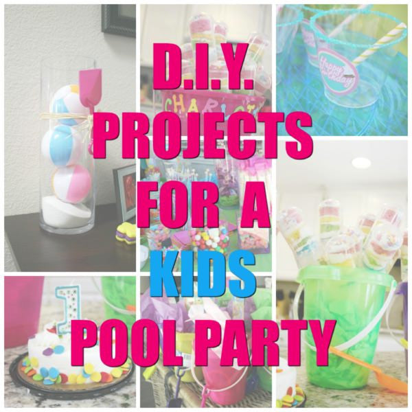 DIY Pool Party Ideas