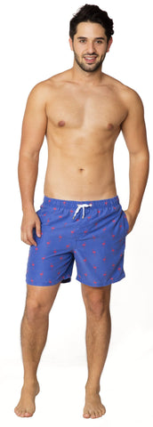 Mini Me Flamingo Swim Trunk