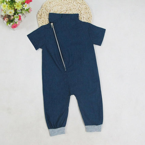 Dashing Denim Romper