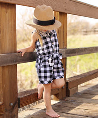 Mad For Plaid Romper