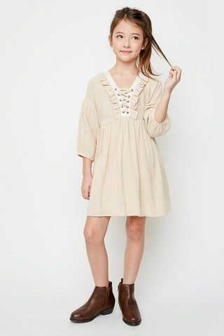 Ruffled Peasant Dress