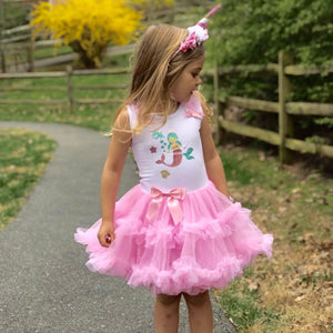 Magical Mermaid Ruffle Dress
