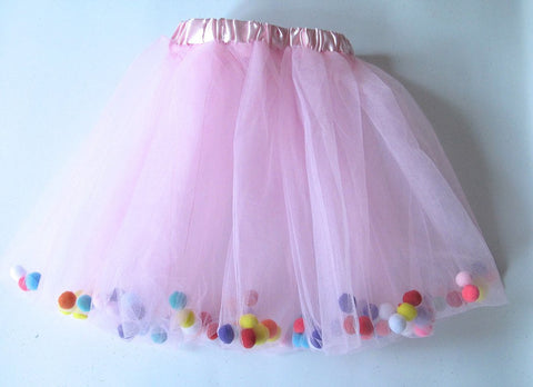Pom Pom Tutu and Bow