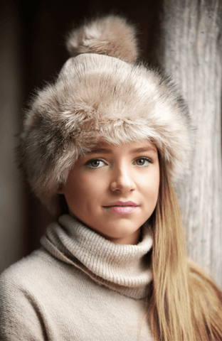 Faux Fur Cuff Hat