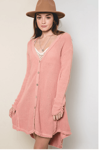Woman's Knit Cardigan