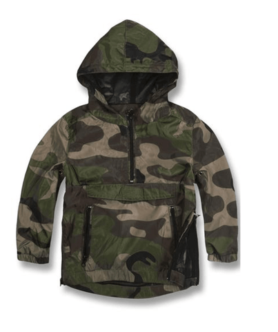 Camo Waterproof Pullover