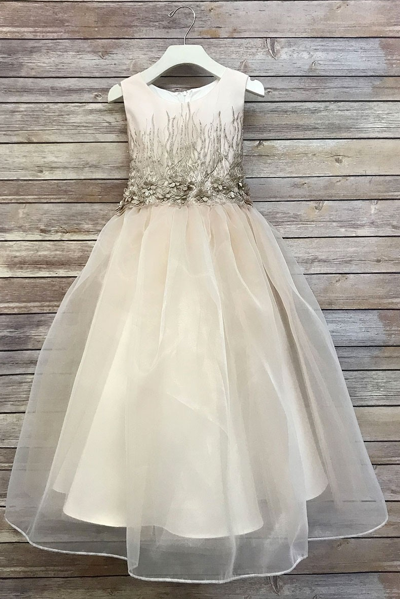Scarlett Glamour Dress - Blush