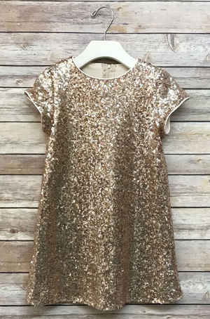 Rose Gold Katy Dress