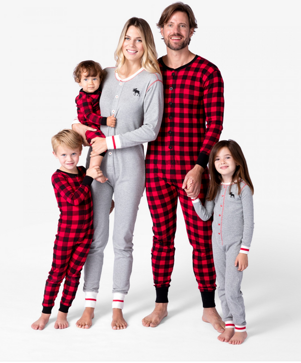 Grey Moose Family Union Suits
