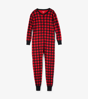 Buffalo Plaid Union Suit