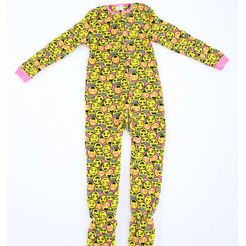 Emoji Footed PJ's